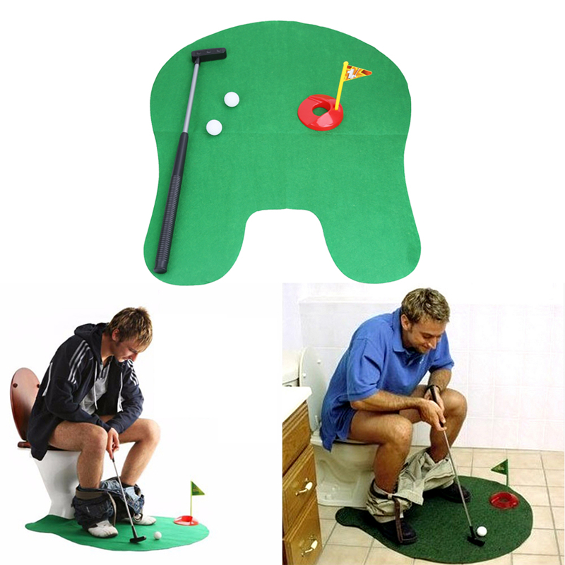 Mini golf do toalety Aliexpress