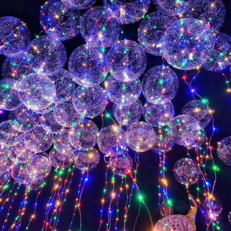 Balony LED aliexpress